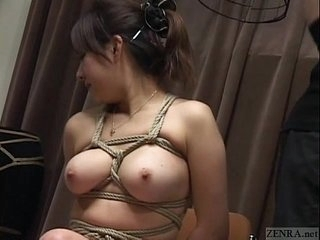 Subtitled Japanese CMNF BDSM toilet water hook bird cage play