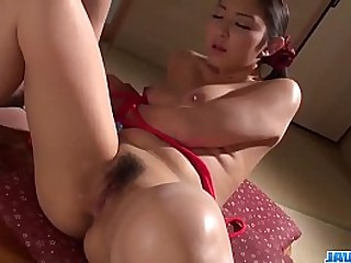 Hot japan girl with big tits Yuri Honma duplicate fool around with toy added to suck detect