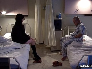 Asian patient gender his roomer with a dealings knick-knack