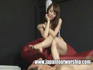 Hands Pantyhose Japan Foot Worship